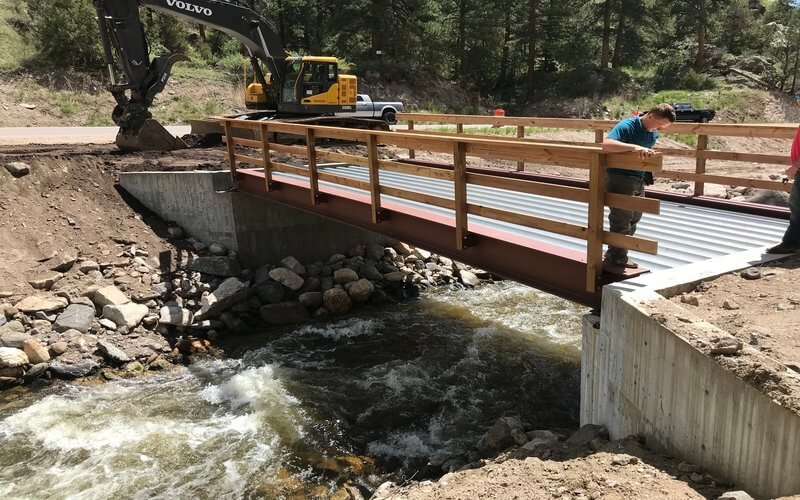 Small Bridge construction